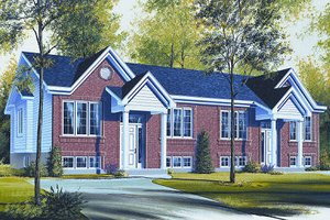 House Design - Colonial Exterior - Front Elevation Plan #23-678