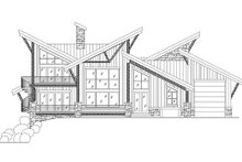 Exterior - Rear Elevation Plan #5-461