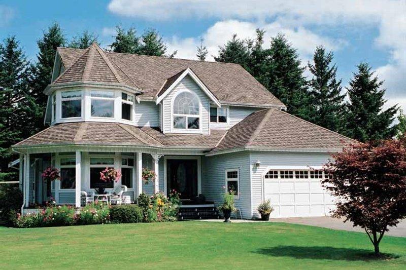 Victorian Exterior - Front Elevation Plan #47-842 - Houseplans.com