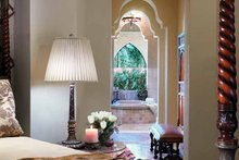 Mediterranean Interior - Master Bedroom Plan #930-98