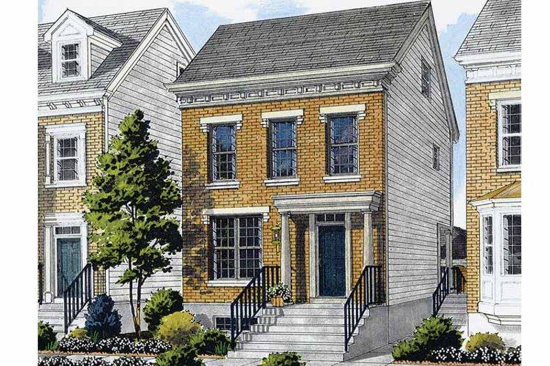 Classical Exterior - Front Elevation Plan #46-748 - Houseplans.com