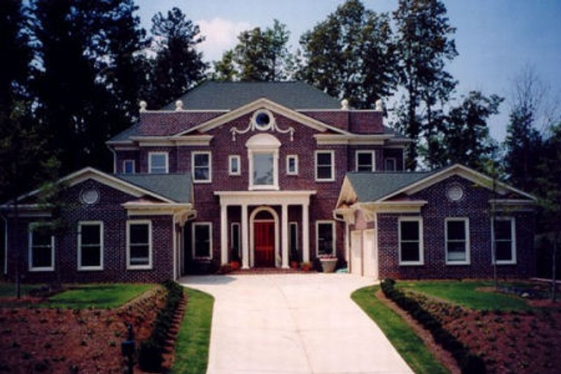 Dream House Plan - Classical Exterior - Front Elevation Plan #119-118