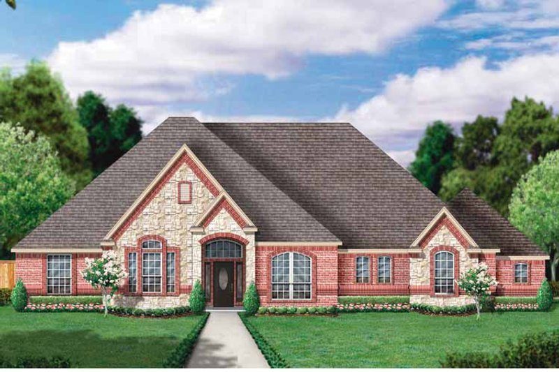 Country Exterior - Front Elevation Plan #84-648 - Houseplans.com