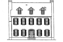 Classical Exterior - Front Elevation Plan #472-359