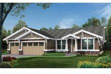 Craftsman Exterior - Front Elevation Plan #132-538
