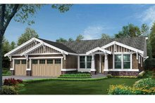 House Design - Craftsman Exterior - Front Elevation Plan #132-538
