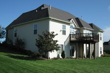 Dream House Plan - Mediterranean Exterior - Rear Elevation Plan #927-122