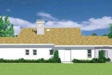House Blueprint - European Exterior - Other Elevation Plan #72-1136
