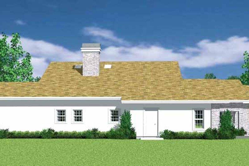 European Exterior - Other Elevation Plan #72-1136 - Houseplans.com