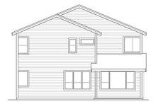 House Plan Design - Traditional Exterior - Rear Elevation Plan #124-1018