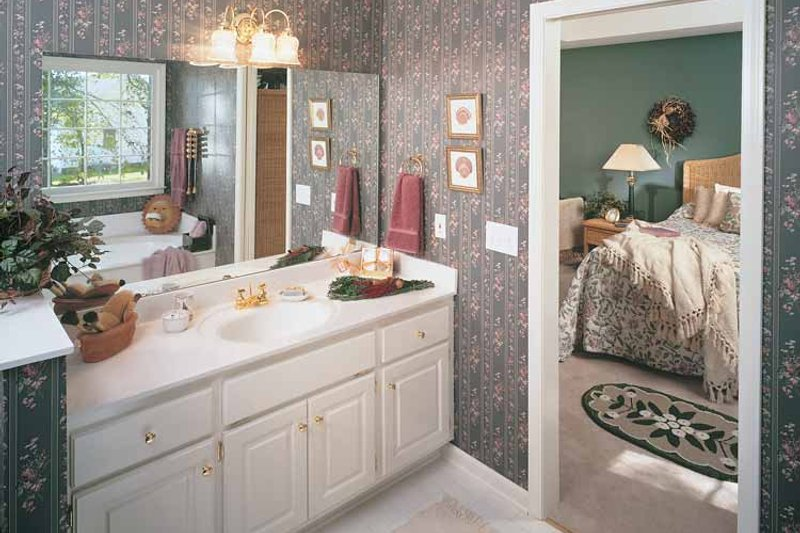 Country Interior - Bathroom Plan #929-190 - Houseplans.com