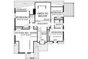 Cottage Style House Plan - 5 Beds 4 Baths 2673 Sq/Ft Plan #137-289 Floor Plan - Upper Floor Plan