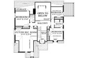 Cottage Style House Plan - 5 Beds 4 Baths 2673 Sq/Ft Plan #137-289 Floor Plan - Upper Floor