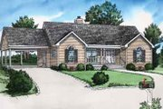 Traditional Style House Plan - 2 Beds 2 Baths 987 Sq/Ft Plan #16-253