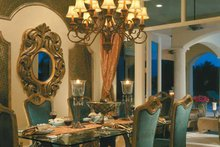 House Plan Design - Mediterranean Interior - Dining Room Plan #930-323