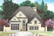 European Style House Plan - 4 Beds 2.5 Baths 2764 Sq/Ft Plan #119-290 Exterior - Front Elevation