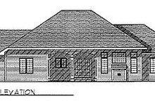 Traditional Exterior - Rear Elevation Plan #70-276