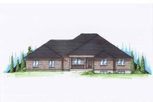 House Plan Design - Traditional Exterior - Front Elevation Plan #945-95