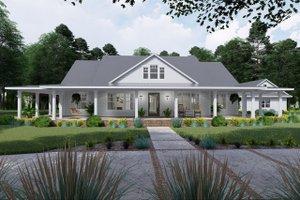 Farmhouse Exterior - Front Elevation Plan #120-254