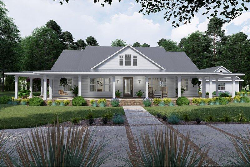 House Plan Design - Farmhouse Exterior - Front Elevation Plan #120-254