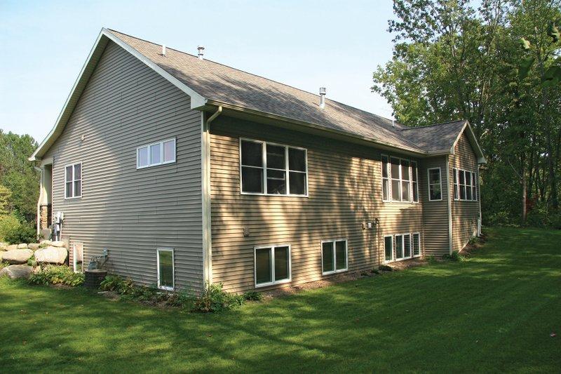 Ranch Exterior - Rear Elevation Plan #928-5 - Houseplans.com