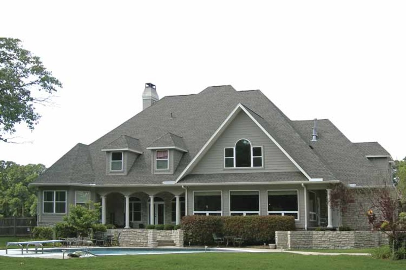 Country Exterior - Rear Elevation Plan #11-275 - Houseplans.com