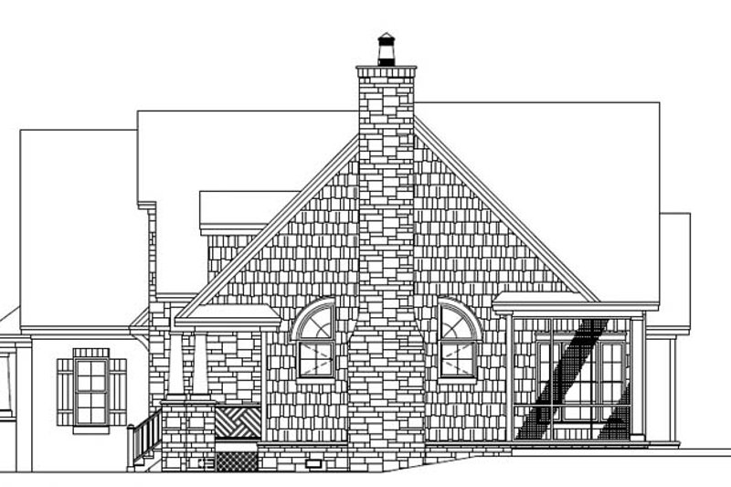 European Exterior - Other Elevation Plan #929-907 - Houseplans.com