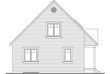 Cottage Exterior - Rear Elevation Plan #23-824