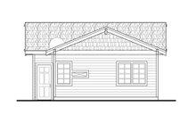 House Plan Design - Craftsman Exterior - Rear Elevation Plan #124-1093