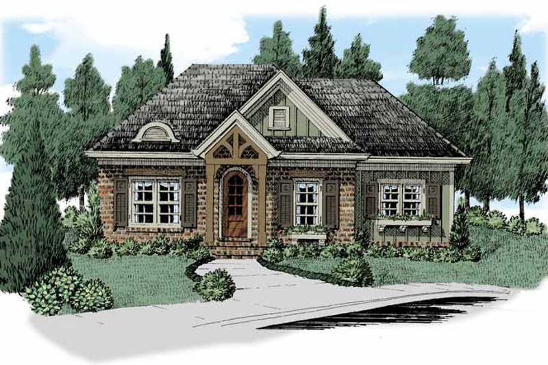 House Design - European Exterior - Front Elevation Plan #927-511
