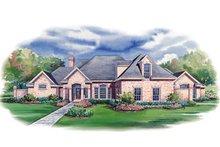 Home Plan Design - European Exterior - Front Elevation Plan #20-1145