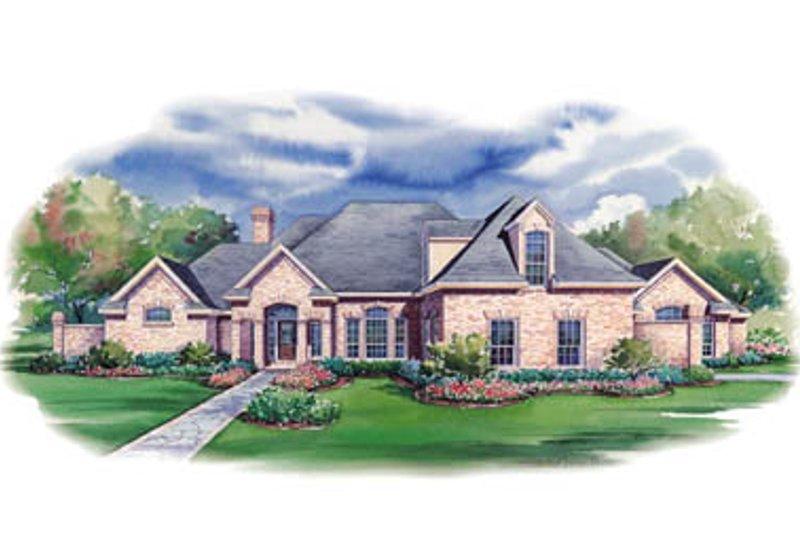 European Style House Plan - 3 Beds 3.5 Baths 3587 Sq/Ft Plan #20-1145