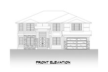 Dream House Plan - Contemporary Exterior - Front Elevation Plan #1066-125