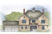 Traditional Style House Plan - 4 Beds 2.5 Baths 2517 Sq/Ft Plan #901-91 Exterior - Front Elevation