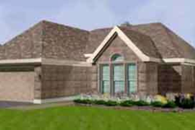 Traditional Exterior - Front Elevation Plan #410-346 - Houseplans.com