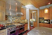 Contemporary Style House Plan - 4 Beds 4 Baths 7007 Sq/Ft Plan #951-2 Interior - Kitchen