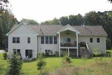 Craftsman Exterior - Rear Elevation Plan #928-117