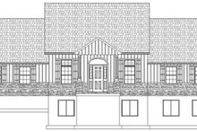 Architectural House Design - Ranch Exterior - Front Elevation Plan #1060-23