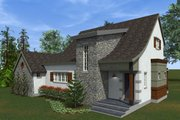 Traditional Style House Plan - 3 Beds 2.5 Baths 2164 Sq/Ft Plan #933-3 Exterior - Outdoor Living
