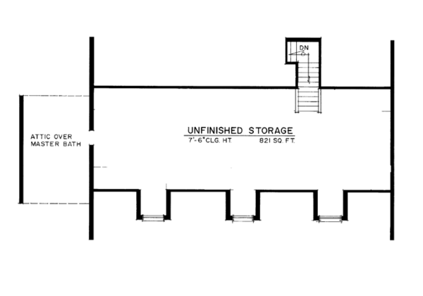 Dream House Plan - Colonial Floor Plan - Other Floor Plan #1016-100