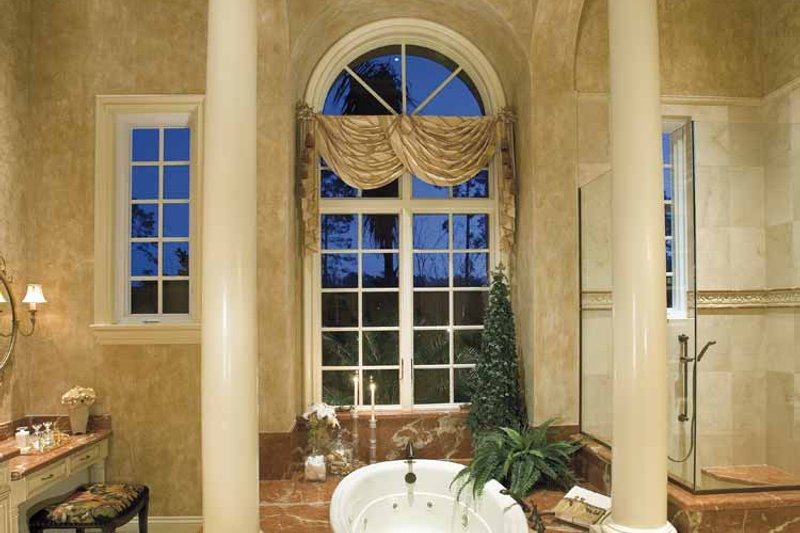 Mediterranean Interior - Master Bathroom Plan #930-398 - Houseplans.com