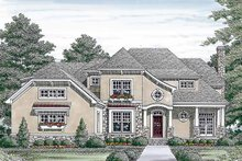 House Plan Design - Country Exterior - Front Elevation Plan #453-452