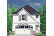 Country Exterior - Front Elevation Plan #509-183
