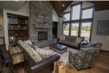 Dream House Plan - Craftsman Interior - Family Room Plan #892-11