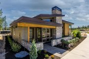 Modern Style House Plan - 3 Beds 2 Baths 1731 Sq/Ft Plan #895-60 Exterior - Front Elevation
