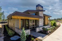 Dream House Plan - Modern Exterior - Front Elevation Plan #895-60