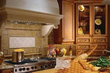 Mediterranean Interior - Kitchen Plan #930-98