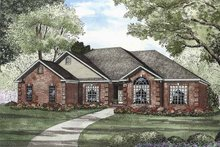 Traditional Exterior - Front Elevation Plan #17-2880