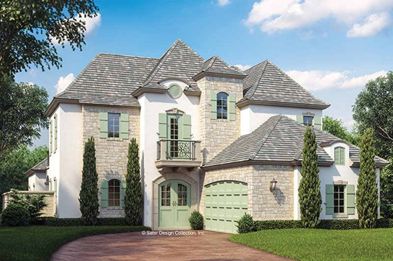 Home Plan - European Exterior - Front Elevation Plan #930-445