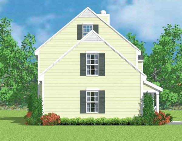 Country Floor Plan - Other Floor Plan Plan #72-1086